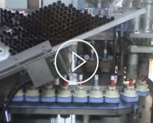 Medium speed ointment production line